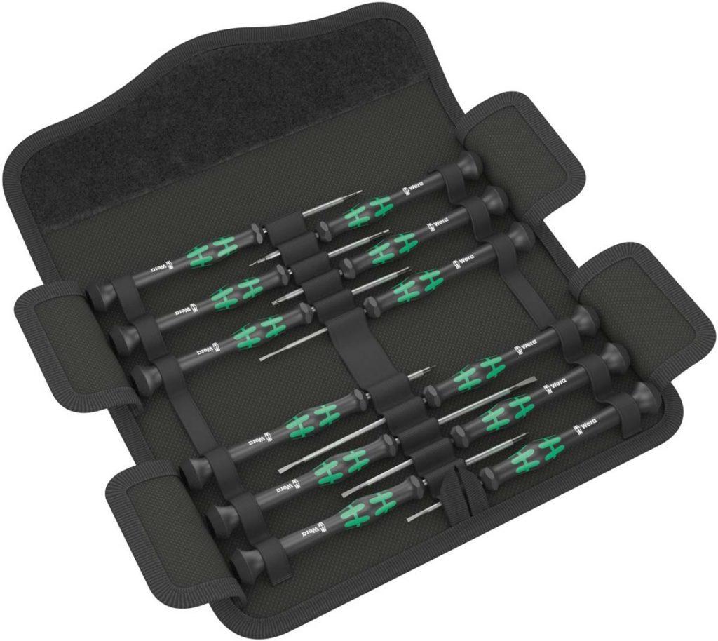 Destornilladores de precisión Wera 05073675001 Kraftform micro