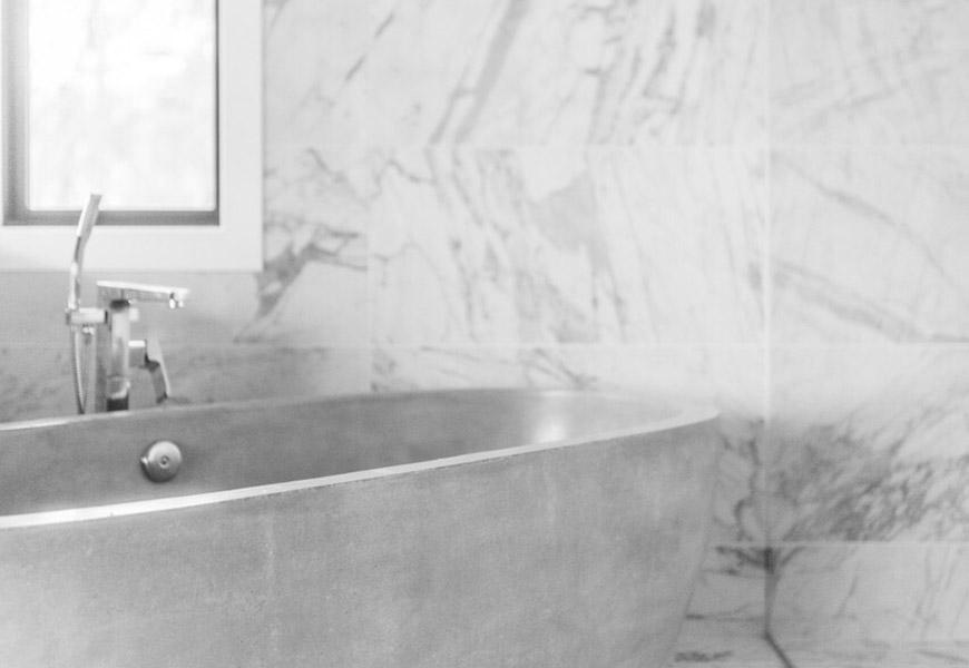 Baño de Mármol y Granito