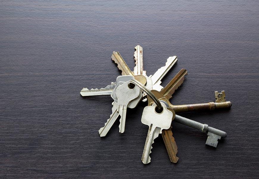 Olvidar llaves en casa